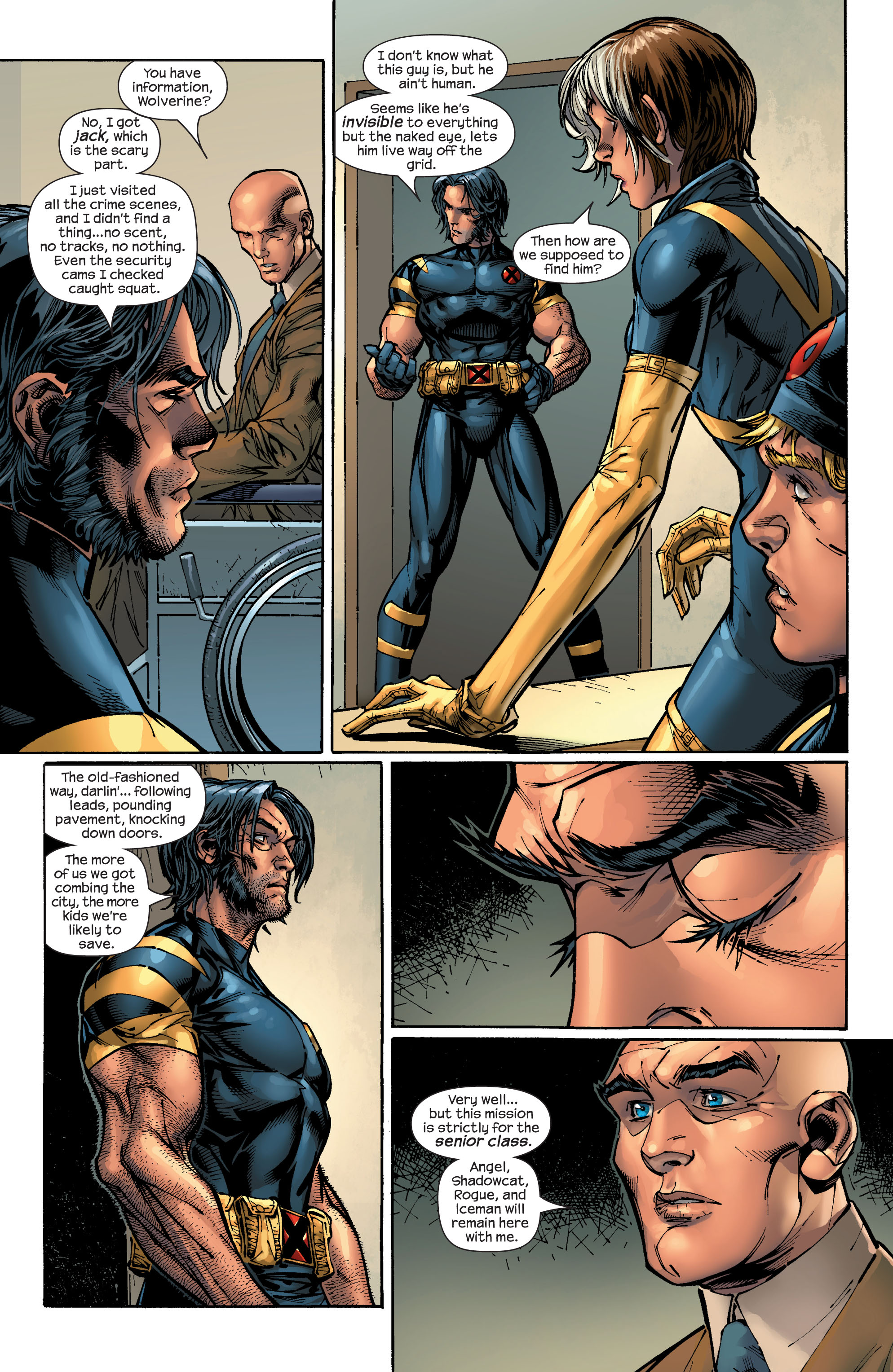 Read online Ultimate X-Men comic -  Issue #47 - 22