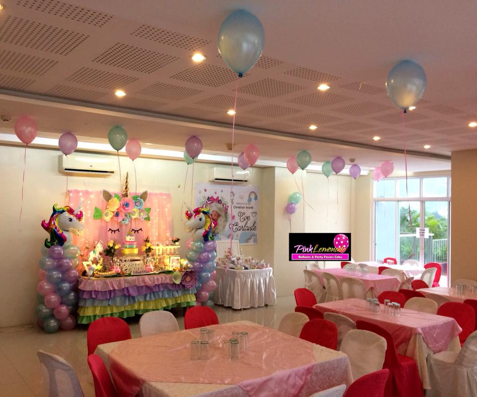 Pink Lemonade Balloons And Party Favors Cebu Unicorn