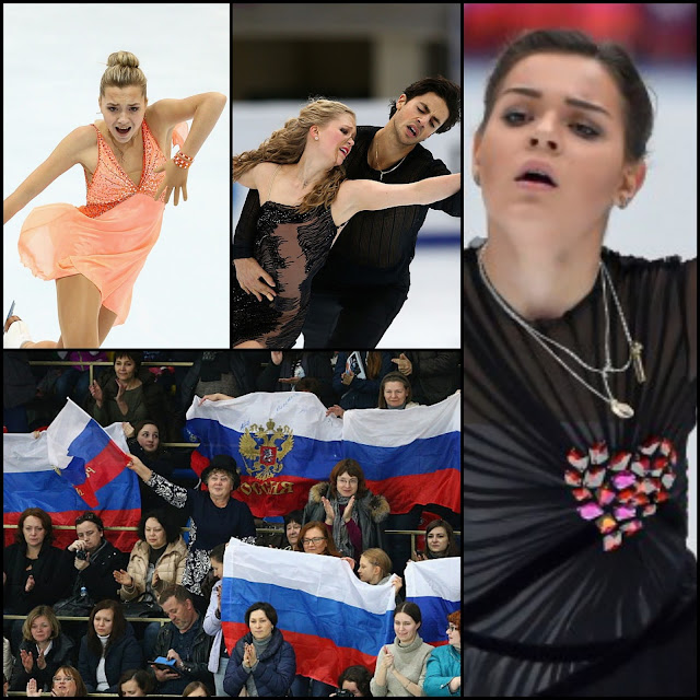 ICE STYLE.....2015 Rostelecom Cup of Russia: Figure Skating Costumes Highlights--Ladies, Men, Pairs & Ice Dance!