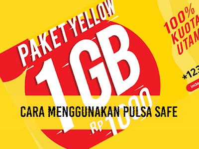 Cara Menggunakan Pulsa Safe Indosat