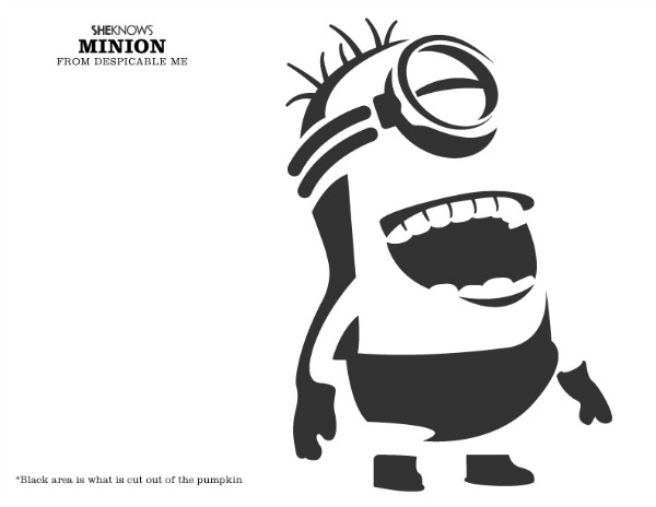 Cool Funny Jack O Lantern Face Design Pattern Templates
