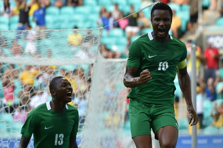 Nigeria captain John Obi Mikel (R) becomes the latest star to head to the Chinese Super League after announcing he will be leaving Chelsea for Tianjin TEDA.