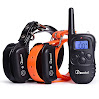 E-collar, Remote Dog Trainer For 2 Dogs With Beep Vibration Electronic Shock, Rechargeable And Waterproof, 330 yd Electronic Dog Training Collars