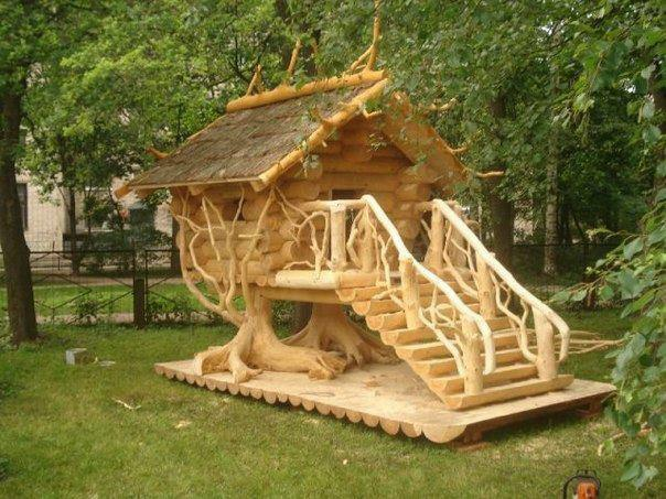 Do It Yourself Home Design: Turning A Sows Ear Into A SILK Purse.: Custom TREE Houses
