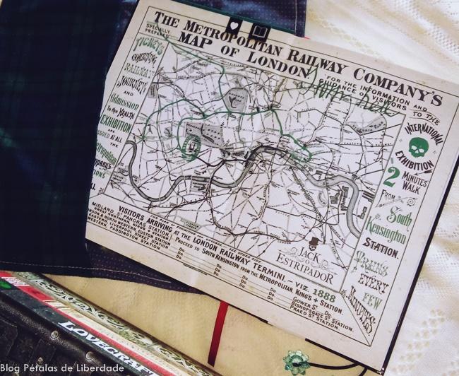 Londres, mapa, Rastro-de-sangue-Jack-o-estripador, Kerri-Maniscalco