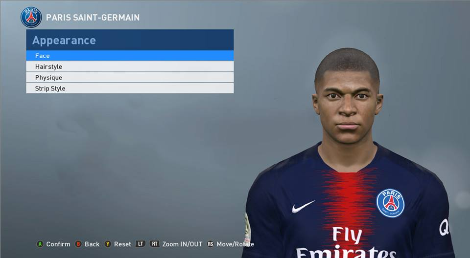 PES 2017 Faces Kylian Mbappé by ABW_FaceEdit ~ SoccerFandom com