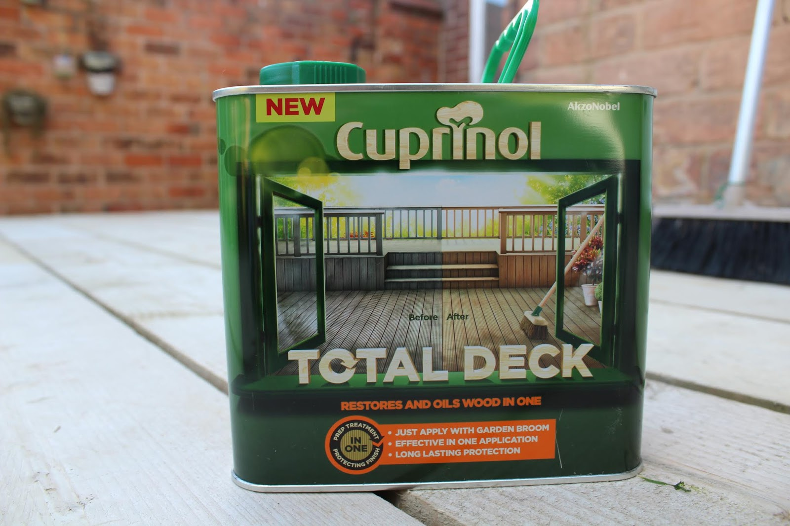Cuprinol Total Deck on Decking