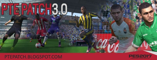 PES 2017 PC : PTE Patch 3.0 Released 12/12/2016