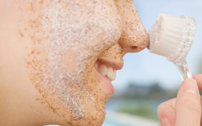 esfoliar a pele