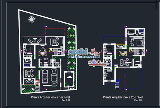 Homestead in AutoCAD