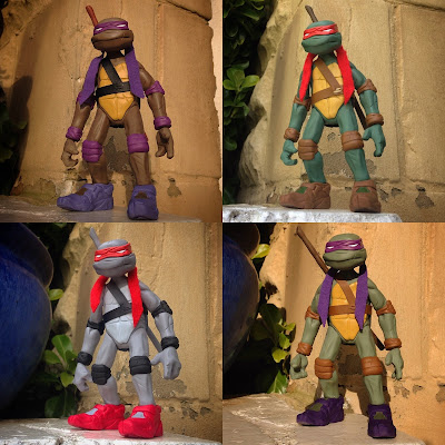 Teenage Mutant Ninja Turtles Donny Resin Figure by WheresChappell – Movie, Game, Cartoon and Comic Books