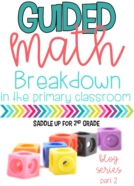 Are you wanting to implement guided math in your classroom? This post includes a full break down of Marcy's schedule. She share ideas for whole group instruction, math stations and centers, lesson plan templates and so much more. Come check it out!