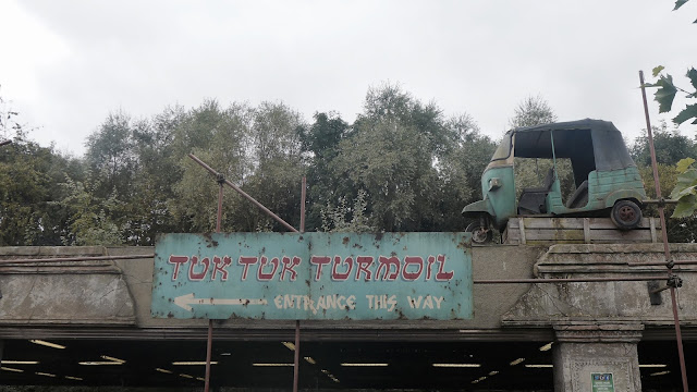Photo of Tuk Tuk Turmoil Sign