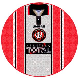 45e147a0ef Atlético Paranaense 1997 - terceira camisa