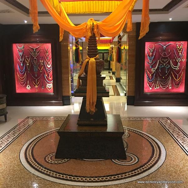 gift shop arcade at Tibet Hotel Chengdu in Chengdu, China