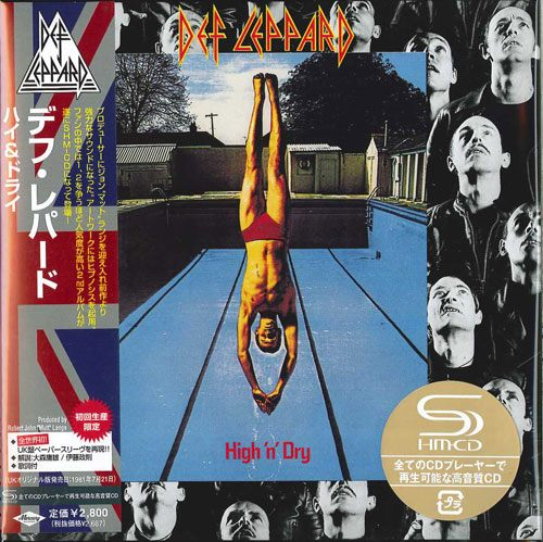 DEF LEPPARD - High 'n' Dry [Japan SHM-CD miniLP] Out Of Print - full