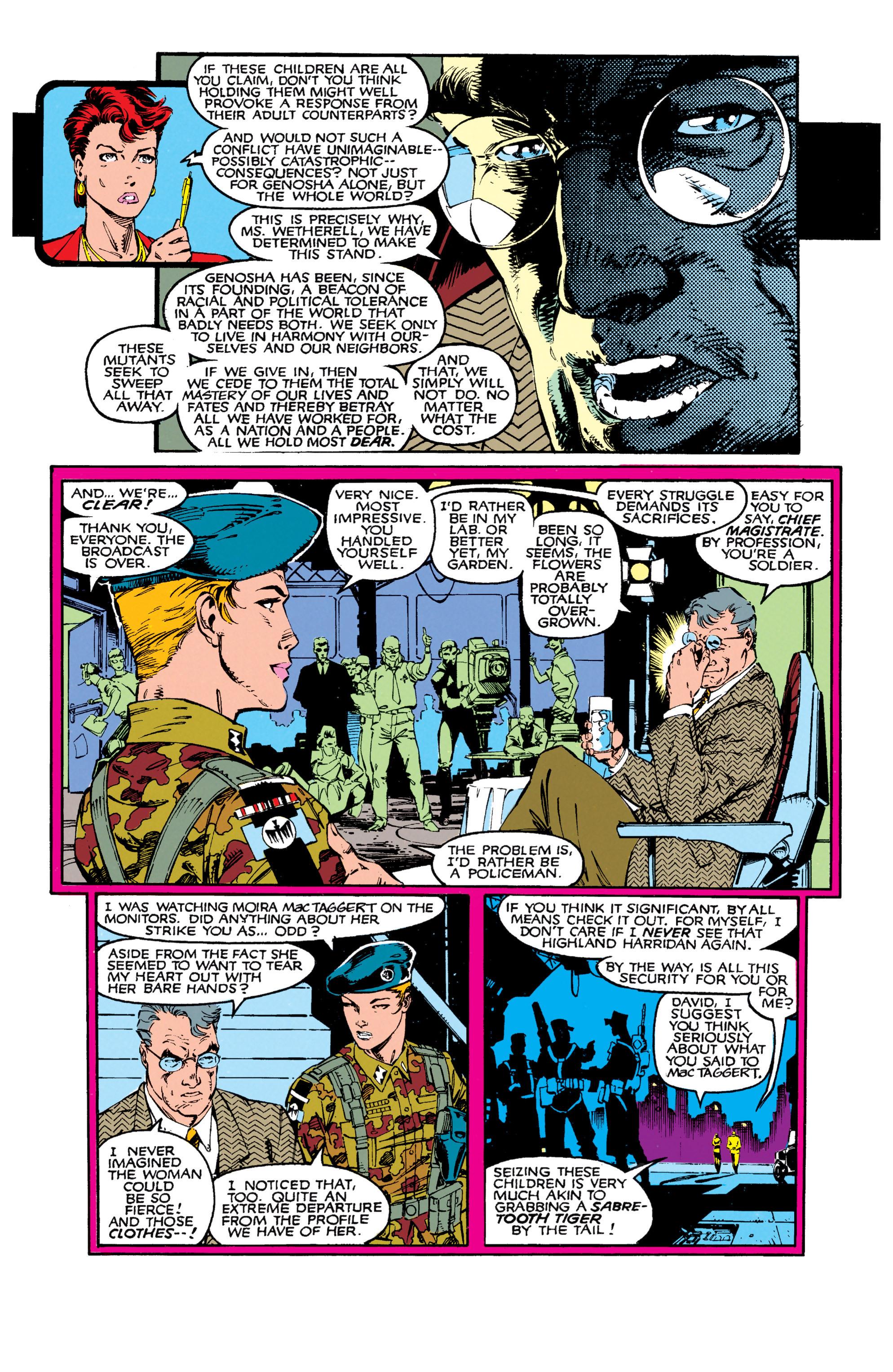 Read online Uncanny X-Men (1963) comic -  Issue #271 - 11