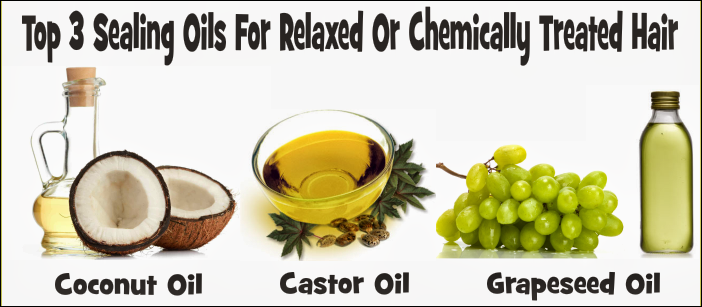 Sealing Oils For colored Or Chemically Treated Hair
