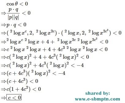 Pembahasan soal matematika sbmptn