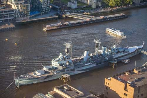 HMS Belfast, River Thames, London