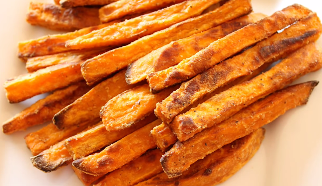 Baked Sweet Potatoes: Great for lunch or snack