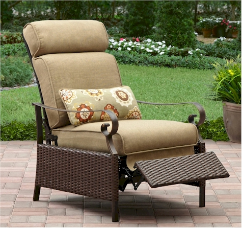 Popular TODAY ONLY Better Homes and Gardens Riverwood Outdoor Recliner for shipped