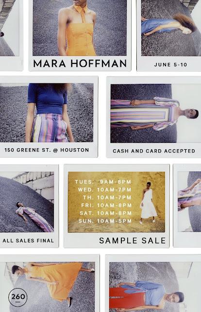 Mara Hoffman sample sale
