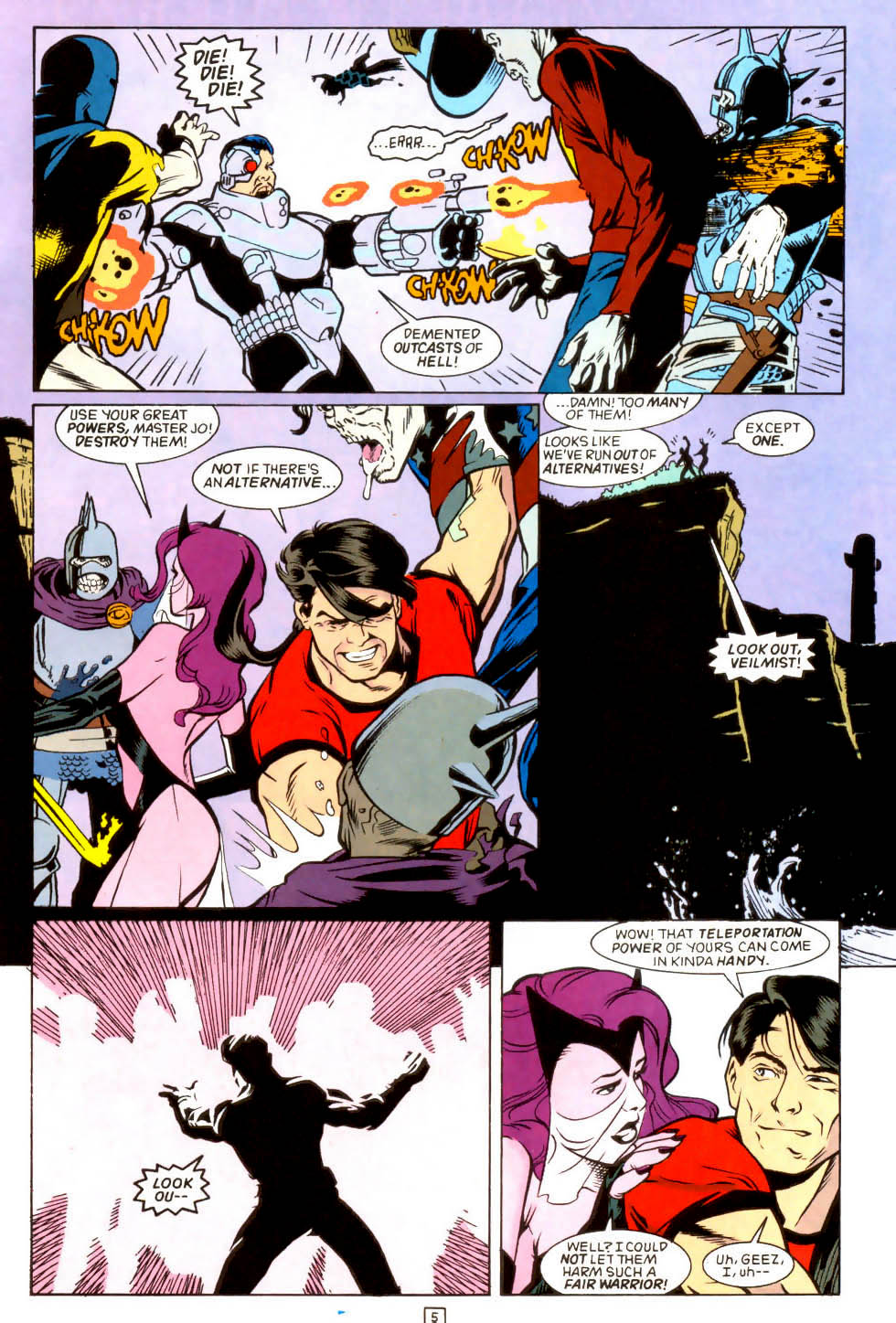 Legion of Super-Heroes (1989) 45 Page 4