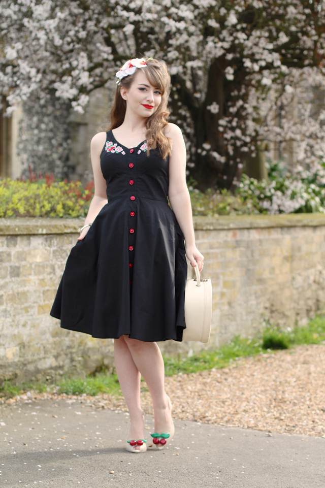 The Hell Bunny Lulu dress black