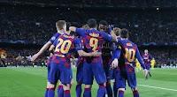 برشلونة يتاهل  لثمن نهائي دوري ابطال اوروبا بعد الفوز على بوروسيا دورتموند بثلاث اهداف لهدف