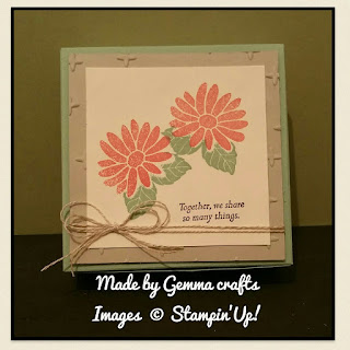 Stampin'Up! Special reason gift box