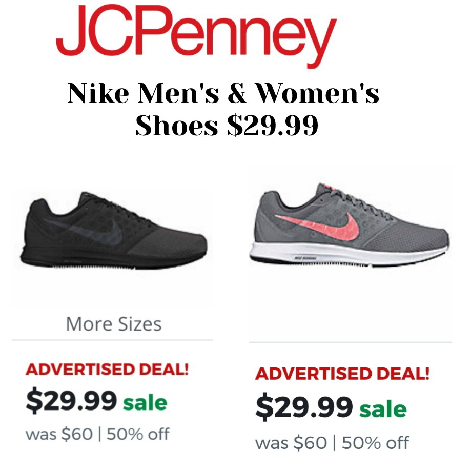58aff941bfe9 Nike Men s   Women s Shoes 50%.Off At Jcpenny!!