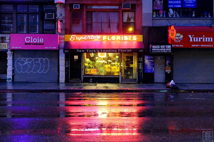 Le Chameau Bleu - Fleuriste de Manhattan - Photographie de New York USA