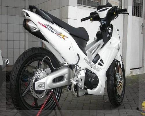 modifikasi motor vario 110 velg power - YouTube