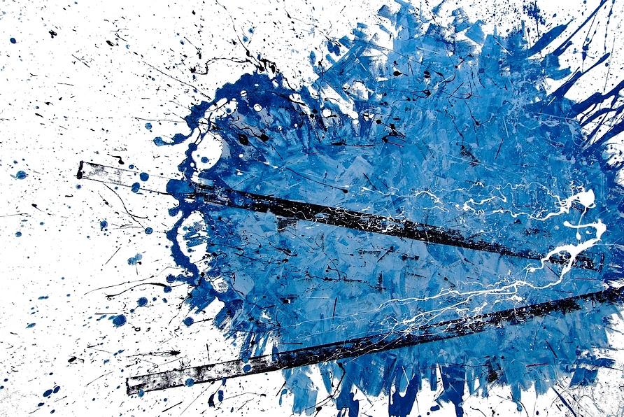 Pittore Goa, quadri moderni astratti su tela.