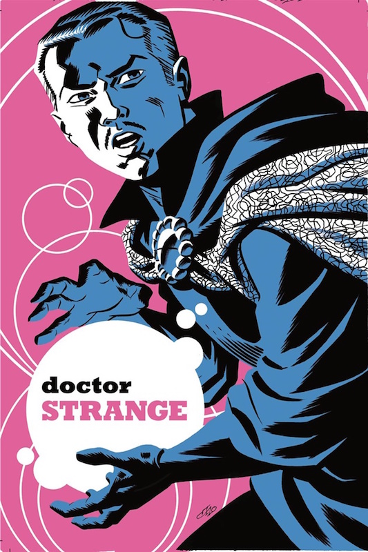 Doctor Strange by Michael Cho.