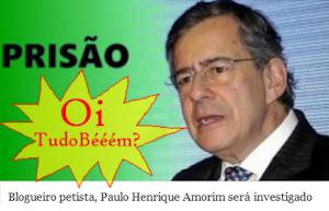 Blogueiro petista, do 'olá tudo bem?' Paulo Henrique Amorim será investigado