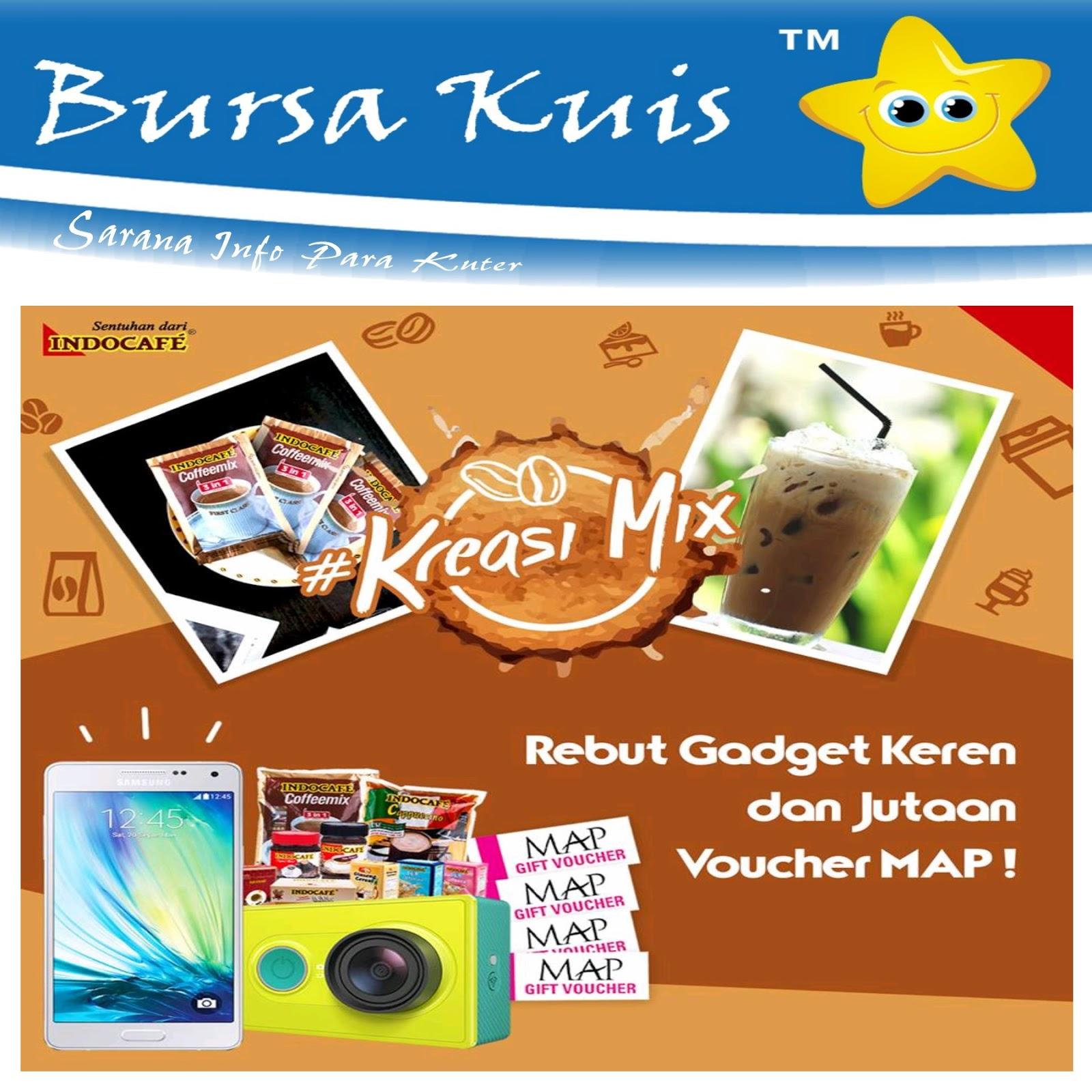 Kontes Foto Kreasi Mix Indocafe Berhadiah Gadget Dan Voucher Belanja Indomaret 2 Juta Jutaan Rupiah