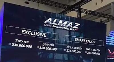 Harga resmi Wuling Almaz 7 seater