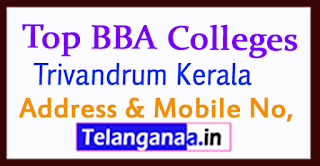 Top BBA Colleges in Trivandrum Kerala
