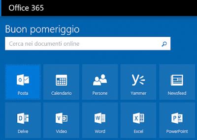 Modificare immagine profilo Office 365