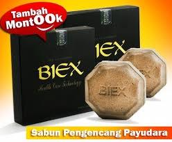 Jual Sabun Pengencang dan Pembesar Payudara BIEX Original Breast Soap Harga Termurah Untuk Perawatan Payudara Secara Alami.