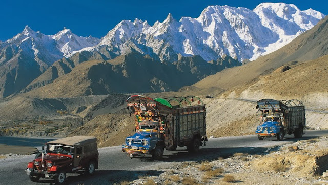 Karakoram Highway which connects Pakistan with China is known as 8th wonder of the world due to its serene landscape