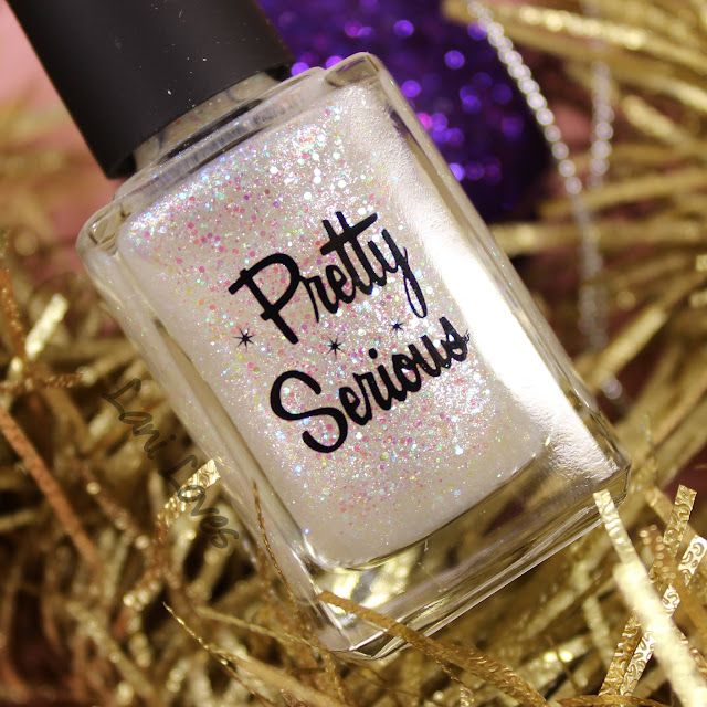 Pretty Serious Jack Frost nail polish swatches & review