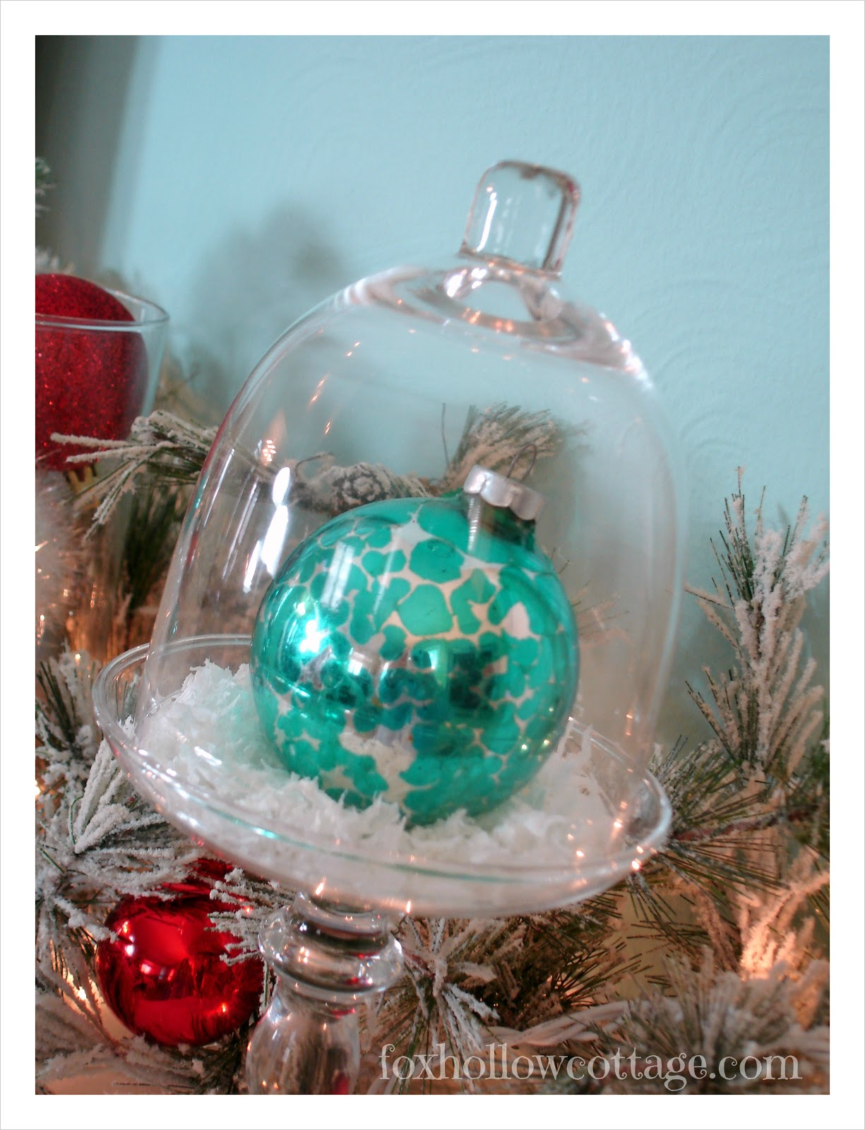 10 Quick Ideas For Decorating With Christmas Ornaments Fox Hollow Cottage