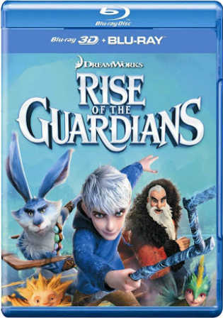 Rise of The Guardians 2012 BRRip 300MB Hindi Dual Audio ORG 480p