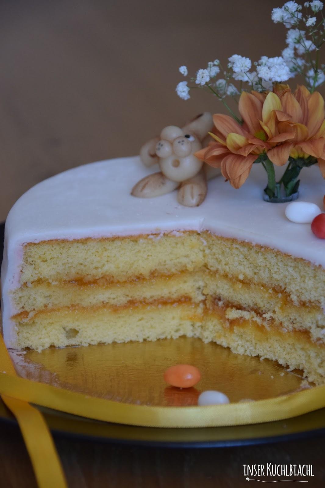 Cake Design Kurs Zurich : inser Kuchlbiachl: Ostertorte aus dem  Cake Design  - Kurs ...