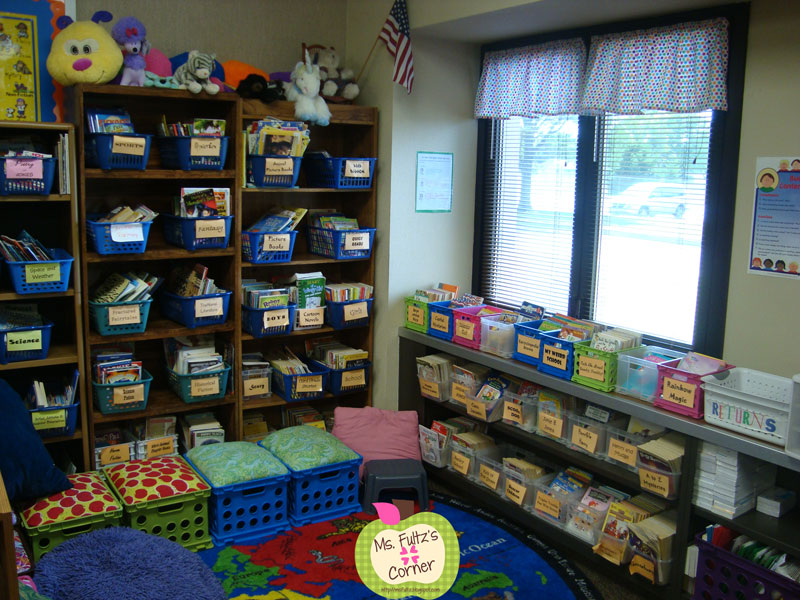 Classroom Organization Ideas Elementary ~ Classroom makeover reading christi fultz