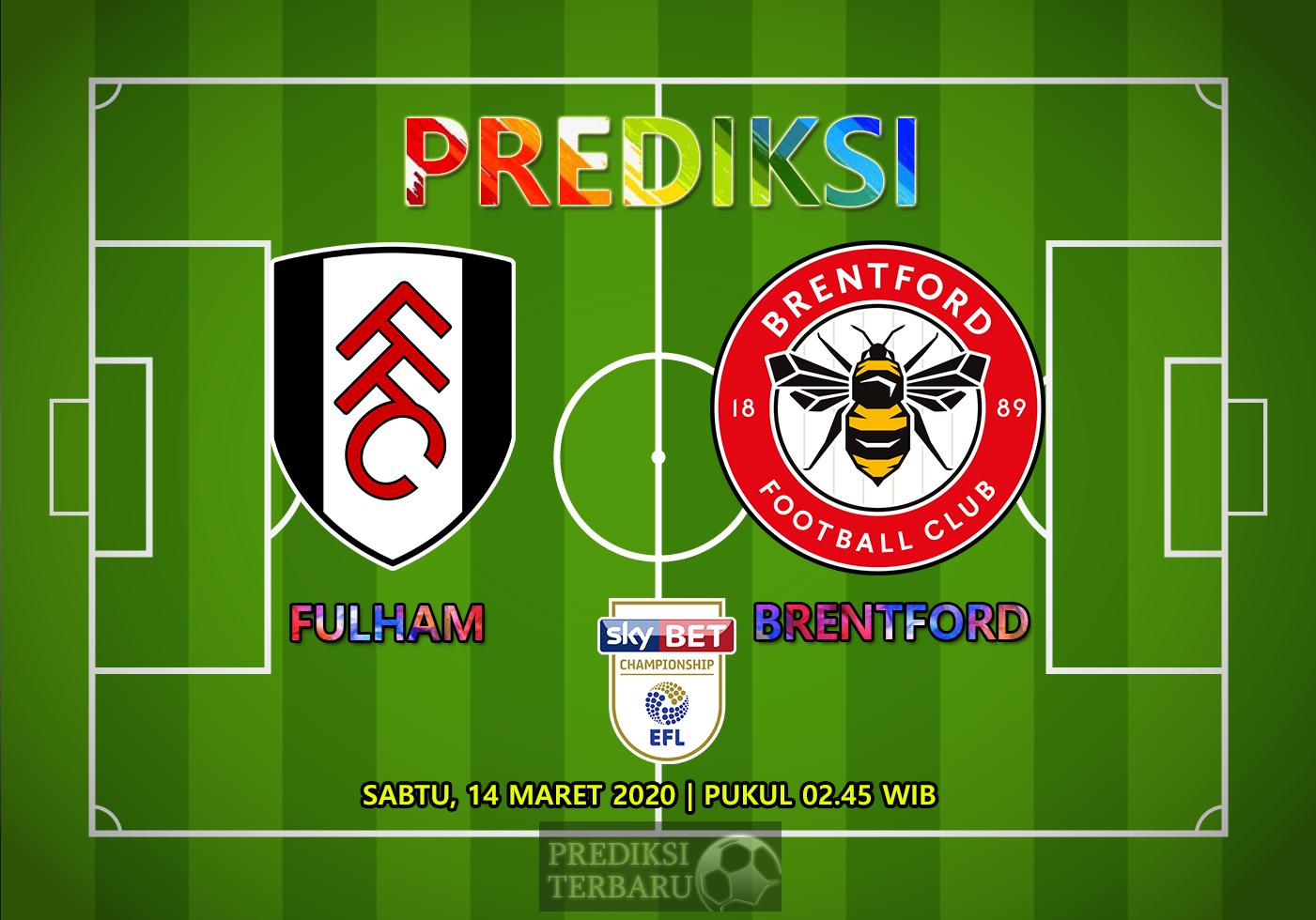 Prediksi Fulham Vs Brentford Sabtu 14 Maret