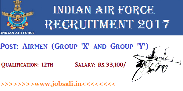 Indian Air Force Jobs, Join Indian Air Force, Indian Air Force Career